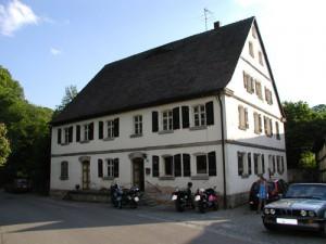 Die ehemalige Dietenhöfener Mühle ist seit 2005 das Clubhaus der Motorrafreunde Herpersdorf e.V.