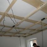 Deckenkonstruktion Aufenthaltsraum